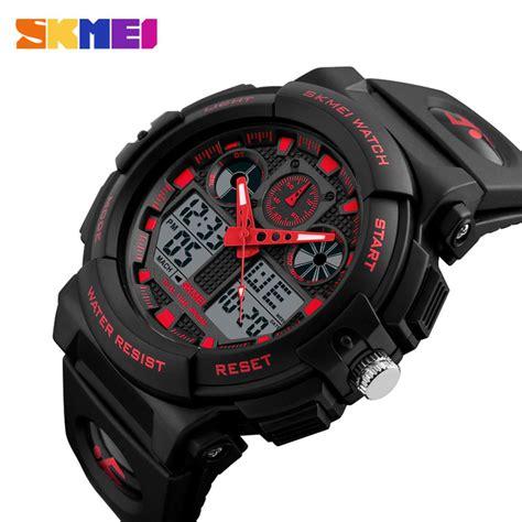 Skmei Jam Tangan Digital Pria Dg1122s Berkualitas skmei jam tangan analog digital pria ad1270 black