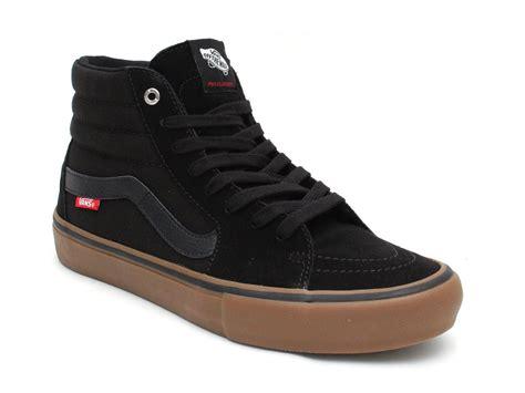 Vans Sk8 Black Gum Sole Waffle Icc vans quot sk8 hi pro quot shoes black gum kunstform bmx shop