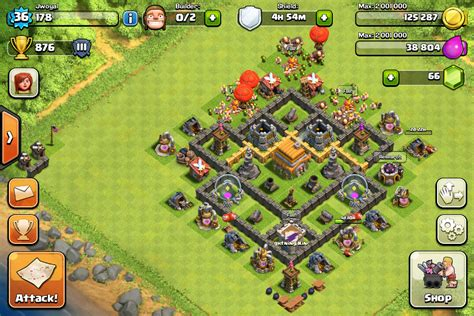 clash of clans layout strategy level 6 clash of clans town hall 6 layout clash of clans