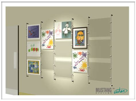 art display systems great projects using mustang systems