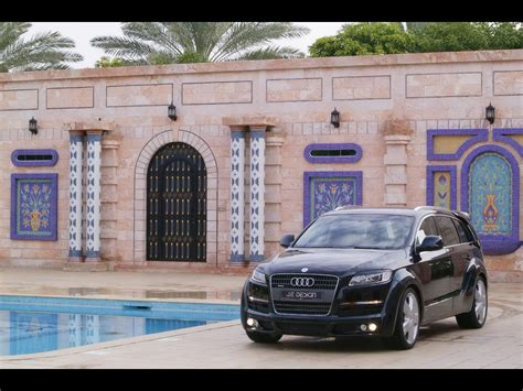 2007 JE Design Audi Q7 Wide Body Kit Front Angle Pool 1280x960 Wallpaper
