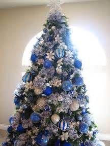 Christmas in blue beautiful blue christmas trees pinterest