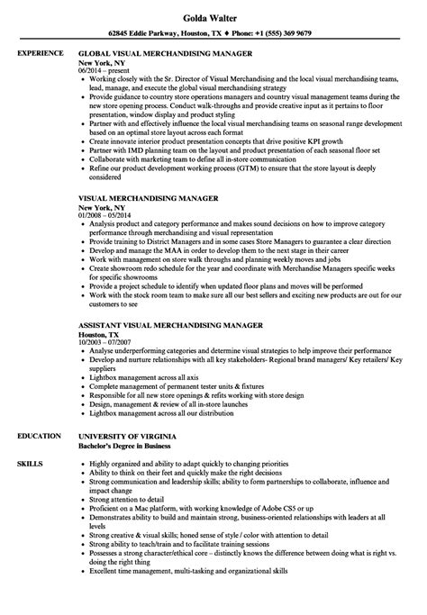 sle resume for visual merchandising manager atemberaubend visual merchandising manager lebenslauf beispiele fotos entry level resume