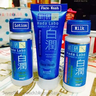 Hada Labo Shirojyun Ultimate Whitening Wash 50gr ririeprams indonesia hada labo shirojyun whitening starter pack reviews