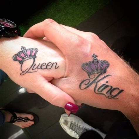30 king and queen tattoos tattoofanblog 30 king and queen tattoos tattoofanblog
