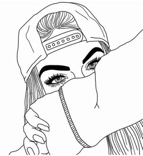 hipster girl coloring page coloring pages tumblr coloring pages tumblr preschool to