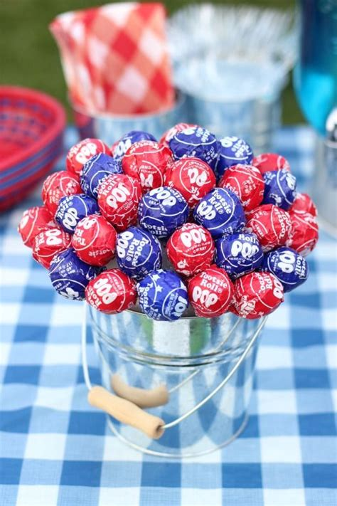 4th of july table centerpieces 25 best ideas about lollipop centerpiece on