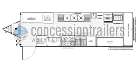 concession trailer floor plans 28 food concession trailer floor plan floorplans