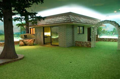 1970s underground home built as cold war era hideaway on