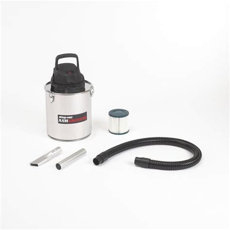 stainless steel shop shop shop vac stainless steel metal ash vacuum at lowes com