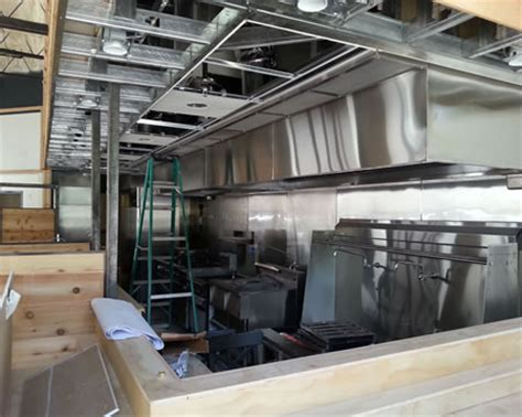 Commerical Vent Hood Installation Services   Kitchen Fire