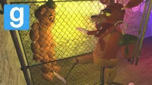 Mod foxy saves freddy gmod role play five nights at freddys mod