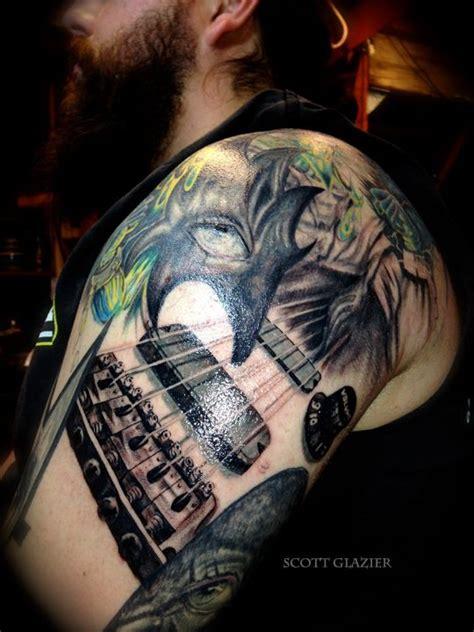 metal tattoo designs heavy metal sleeve and piercing