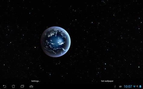 live wallpaper earth hd earth hd live wallpaper