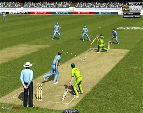 cricket play cricket cricket revolution 2010 version