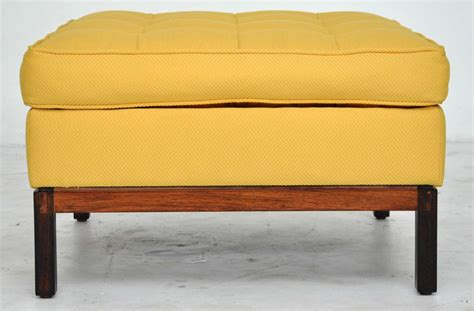 Florence Knoll Ottoman Florence Knoll Ottoman On Rosewood Base For Sale At 1stdibs
