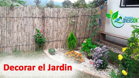 ideas para decorar el jardin youtube - Videos De Como Decorar El Jardin