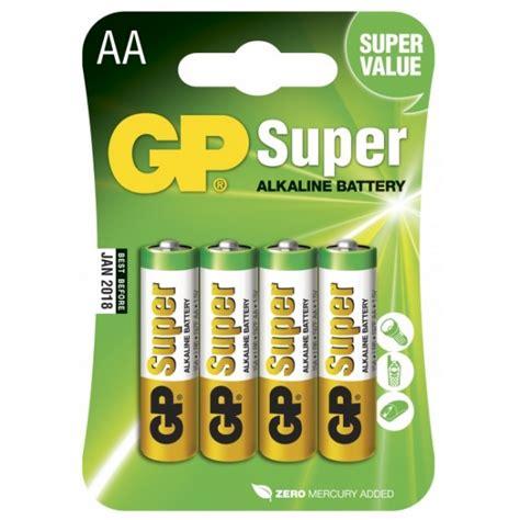 Motorrad Batterie 9v by Alkaline Batterie 4 X Aa Lr6 1 5v Gp Battery