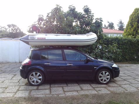 inflatable boat with roof sib on car roof page 2 ribnet forums