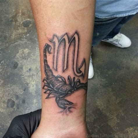 scorpion tattoo on wrist 78 best zodiac tattoos