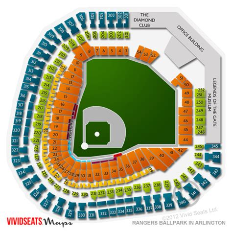 globe park seating rows globe park in arlington tickets globe park in