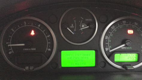 land rover discovery dashboard land rover discovery 3 tdv6 dashboard lights