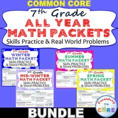 resources for summer packets middle school 7th grade pinterest the world s catalog of ideas
