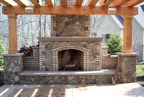 Fireside Hearth And Patio by Pergola Plans With Fireplace Pdf Woodworking