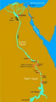 Nile River On World Map by The Nile River
