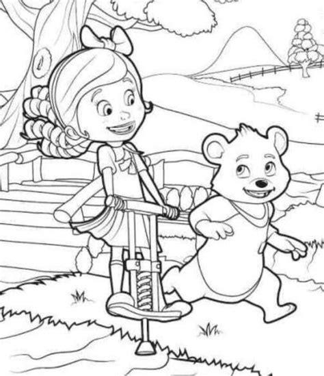 goldie bear coloring pages dibujos para colorear goldie bear imprimible gratis