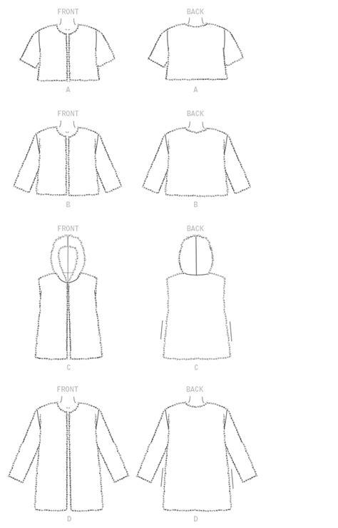 M7257 | Coat pattern sewing, Mccalls sewing patterns