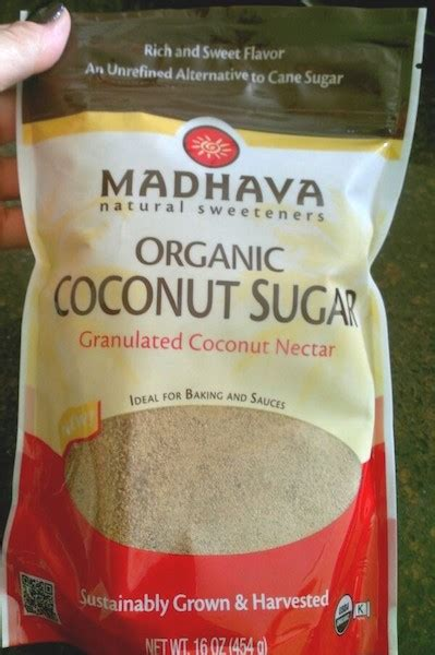 What Is Table Sugar by What Is Coconut Sugar Is It Healthier Than Table Sugar Fooducate