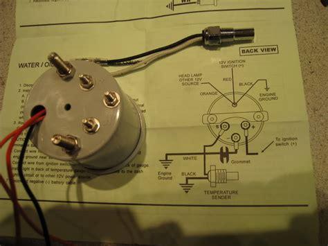 faq how do i hook up my tachometer marshall instruments vdo 310039 temperature gauge automotive interior accessories