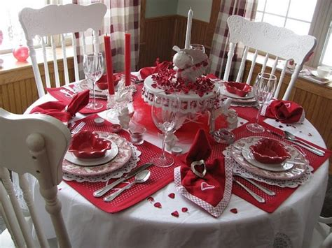 valentines day table decor red and white wedding inspiration by linentablecloth