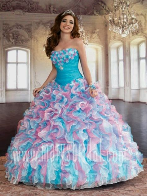 cotton candy colors cx quinceanera dresses ideas