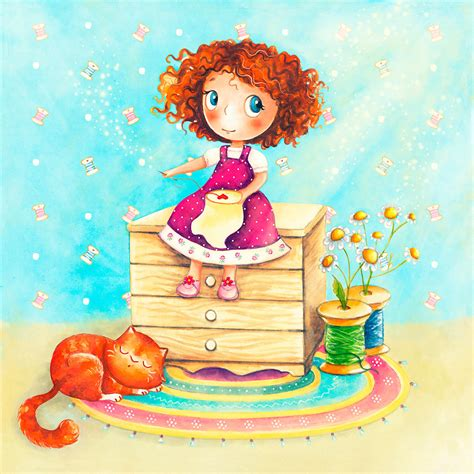 The Handmade Shop - the handmade shop olya badulina children s illustrator