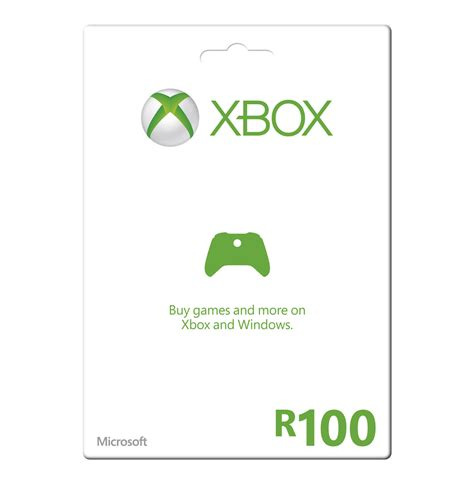 Xbox Gift Card Prices - xbox live r100 gift card lowest prices specials online makro
