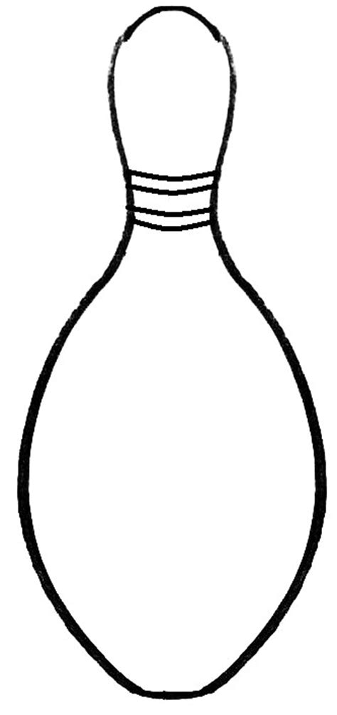 bowling pins template clipart best