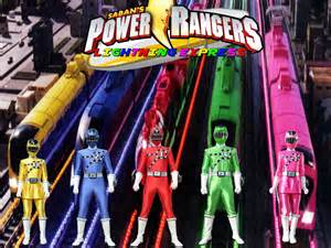power rangers lightning express by thepeopleslima on