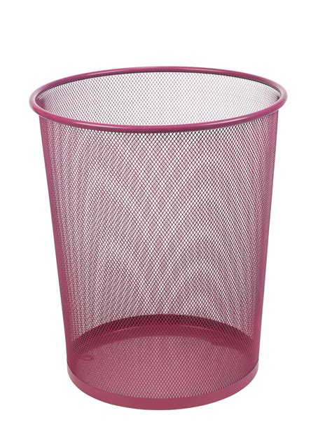 Bedroom Wastebasket by Large Colourful Mesh Waste Paper Basket Office Metal