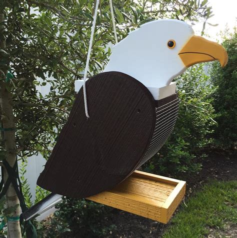 Handcrafted Bird Feeders - amish handcrafted eagle bird feeder