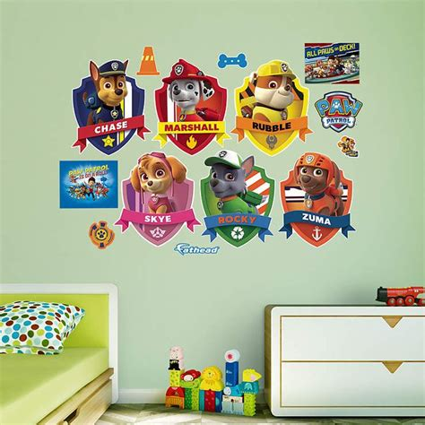 Paw Patrol Room Decor Paw Patrol Room Decor Framed Printed Paw Patrol Picture Painting Wall Room Decor Print Poster