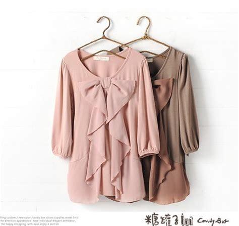 Blouse Cantik blouse wanita import cantik pink model terbaru jual