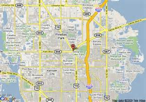 map of la quinta inn pinellas park clearwater pinellas park