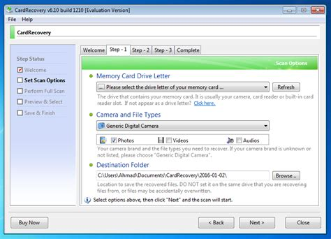 card recovery cardrecovery 6 10 build 1210 version for windows