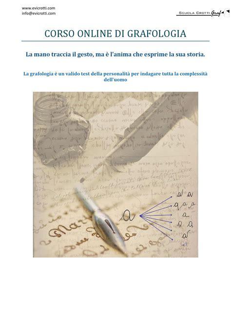 grafologia lettere corso di grafologia manuale completo by studi