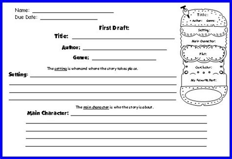 hamburger book report template hamburger book report template pdf we are forum