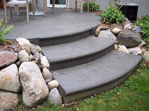 sted concrete patio with pit concrete patio designs with