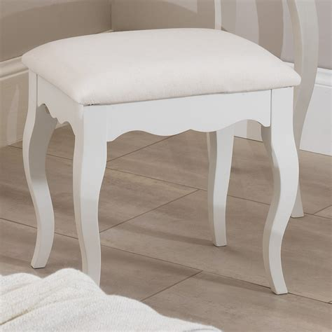 Dressing table chair stool romance white bedroom furniture bedside table chest of rgency