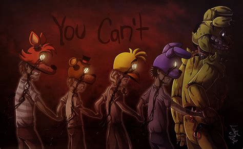 the resistance cookbook and bad hombres in the kitchen b w books fnaf bad ending by ladyfiszi on deviantart